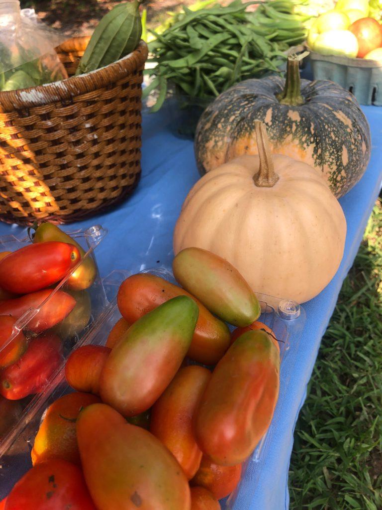 Fresh, local vegetables!